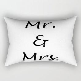 MR. & MRS. Rectangular Pillow