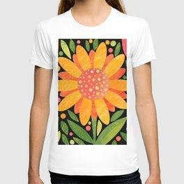 Textured Sunflower T-shirt