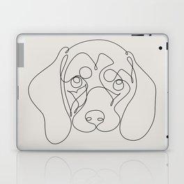 One Line Dachshund Laptop & iPad Skin