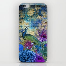 Feather Peacock 20 iPhone Skin