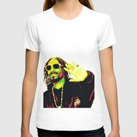 rasta T-shirts featuring Rasta Snoop by dkazbar