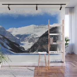 Lake Louise in Banff National Park Wall Mural