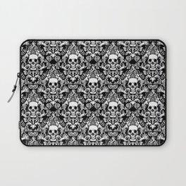 Skull Damask Laptop Sleeve