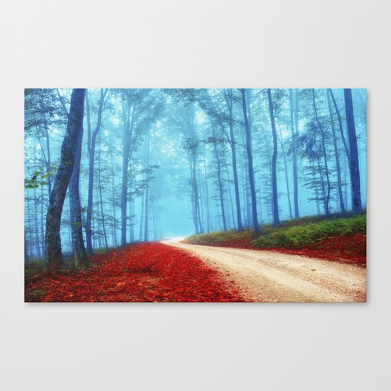Fall for her Canvas Print