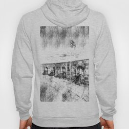 Edinburgh Castle Vintage Hoody