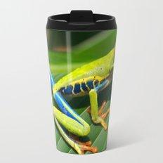 Green Tree Frog Red-Eyed Travel Mug