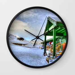 In the Mountain Wall Clock