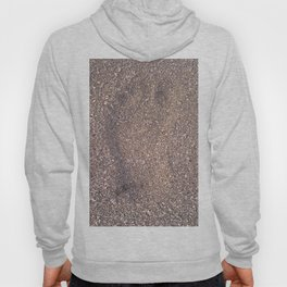 trace in the sand Hoody