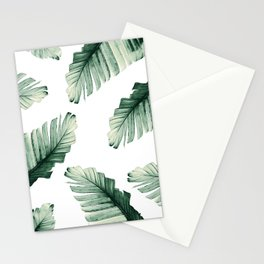 Tropical Banana Leaves Dream #8 #foliage #decor #art #society6 Stationery Cards