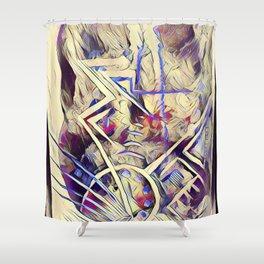 Electrix Shower Curtain