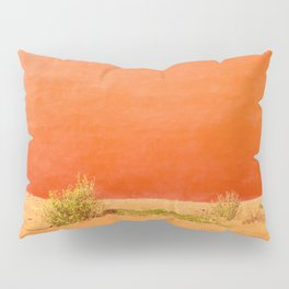 Red Abstract Pillow Sham