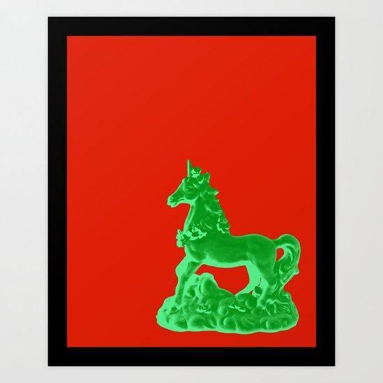 Unicorn Print Art Print