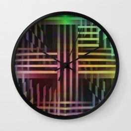 Avantgarde colored Wall Clock