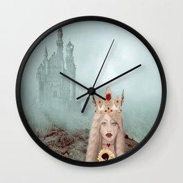 Runaway Queen Wall Clock