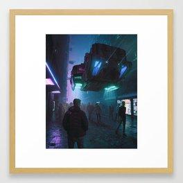 TRANSIT LABOR (everyday 11.17.18) Framed Art Print