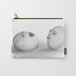 Cracked Egg & a Wink Carry-All Pouch