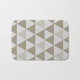 Great Triangle Pattern Bath Mat