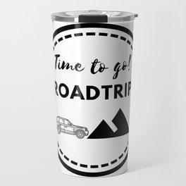 Tiempo de viajar | Time to go Roadtrip Travel Mug