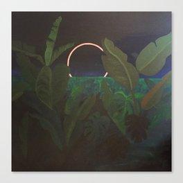 Jungle Eclipse Canvas Print