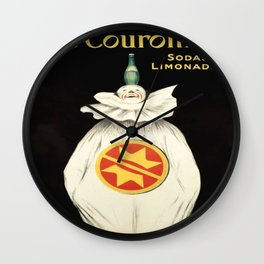 Vintage poster - Les Couronnes Wall Clock