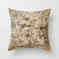 da vinci Throw Pillows featuring da Vinci Angels by Bruce Stanfield