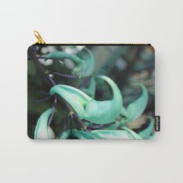 Jade Vine Tropical Plant Close Up Carry-All Pouch