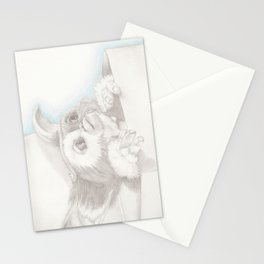 Never Feed Him After Midnight Stationery Cards