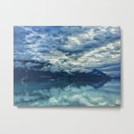 Swiss Glass Metal Print