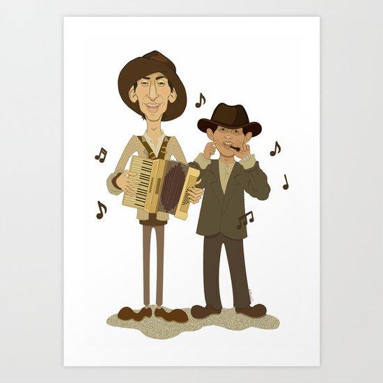 Gypsy Musicians Art Print
