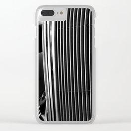 Classic Car Grill Detal Clear iPhone Case