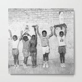 Nas - Nasir - Hip Hop Legend Metal Print