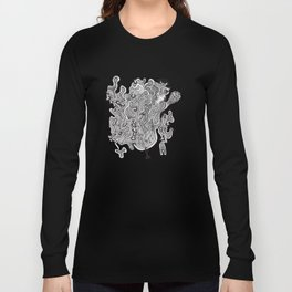Found Floating Through Space Long Sleeve T-shirt