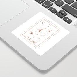 La Lune or The Moon White Edition Sticker
