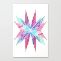 Triangles #5 Canvas Print