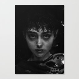 The Branded Girl Canvas Print