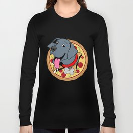 Pizza Puppy Long Sleeve T-shirt