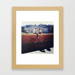 In Rome & In Love Framed Art Print