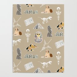 Archeo pattern Poster