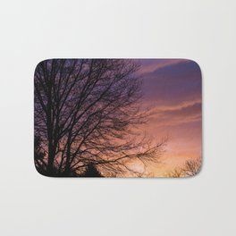 Sunsets and Silhouettes #1 Bath Mat
