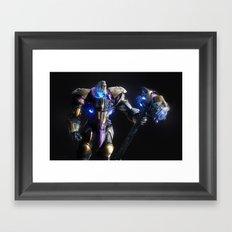 Reinhardt v2 Framed Art Print