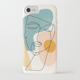 Abstract Face 25 iPhone Case