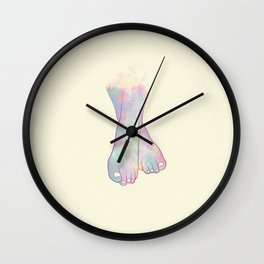 Watched You Dancing Wall Clock