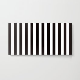 Pin Striped  Metal Print