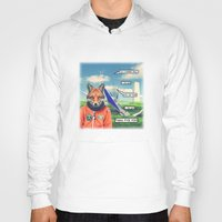 starfox Hoodies featuring Starfox - F*CK YOU PEPPY! by John Medbury (LAZY J Studios)
