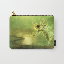 Spirit of the Night By John Atkinson Grimshaw Carry-All Pouch
