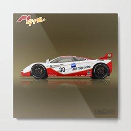 1996 McLaren F1 GTR #03R Metal Print