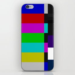 SMPTE Color Bars (as seen on TV) iPhone Skin