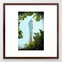 Olympic Stadium  Framed Art Print