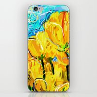 tulips iPhone & iPod Skins featuring Tulips  by sladja