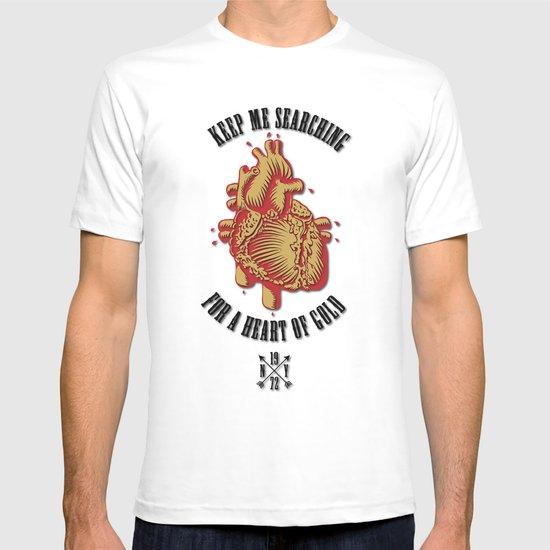 """Heart of Gold""  (""ANALOG zine"") T-shirt"